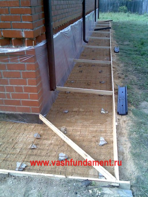 Как сделать температурные зазоры при заливке двора